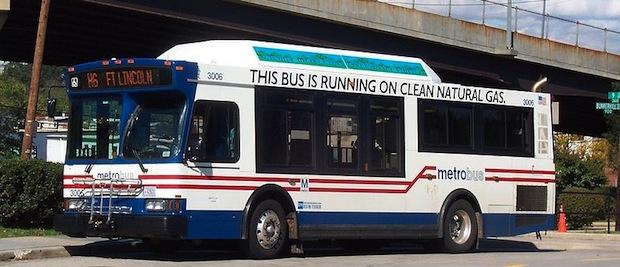 natural gas bus