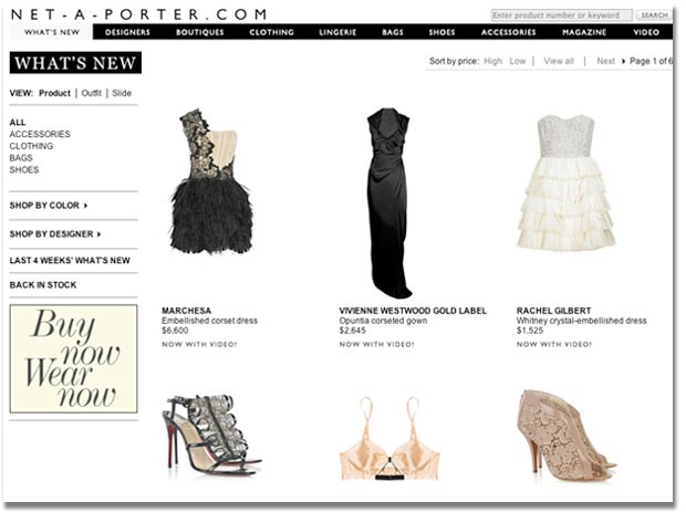 29940b620214 Net a Porter. Luxury brands have been historically slow to embrace e- commerce.