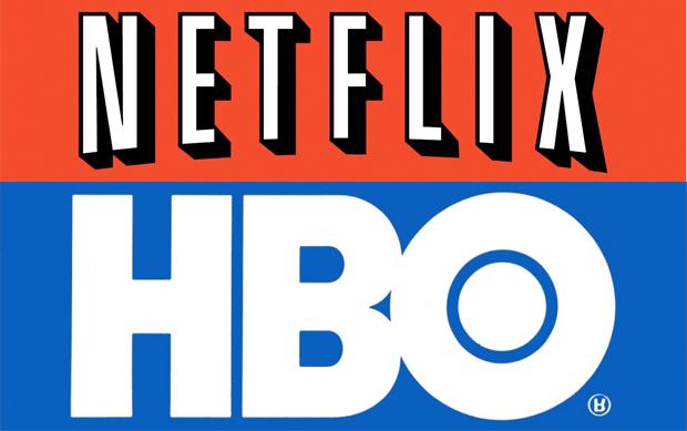 Netflix HBO logos