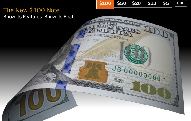 New Benjamin Note Revealed: High Tech…but Where's the High