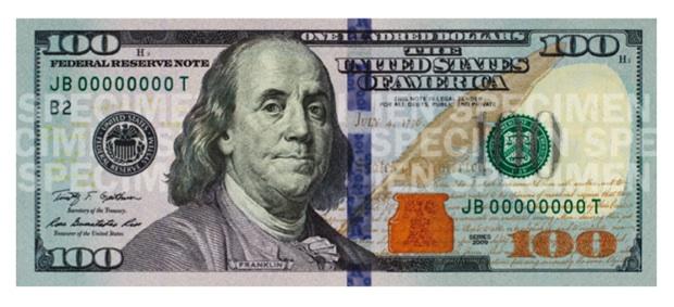 new 100 bill