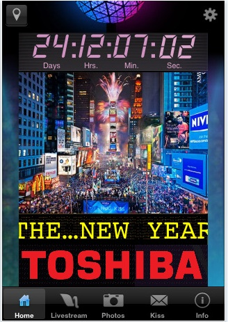 Live From New York: The Times Square New Year's App Implies