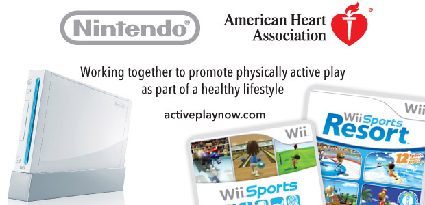 Nintendo American Heart Association