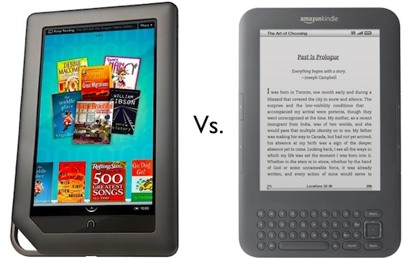 Nook vs. Kindle
