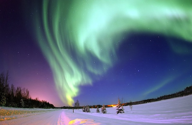 Real-Time Space Weather Forecasting Now Possible, Innovation Front Sweeping in From the Far North