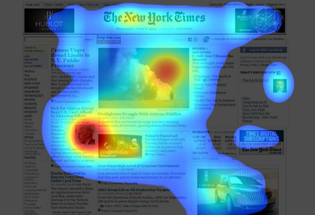 NYT heat map