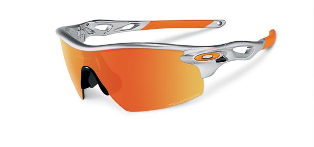 Oakley Radarlock Sunglasses  oakley s radarlock sunglasses feature lenses that pop out like doors