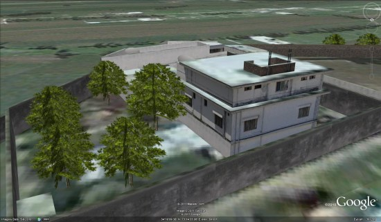 Inside Osama's Compound: Now Available On Google Earth