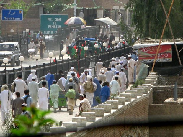 Pakistan border crossing