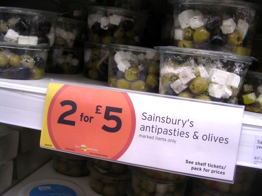 Sainsbury's Antipasties