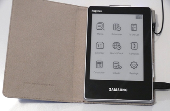 Samsung e-paper