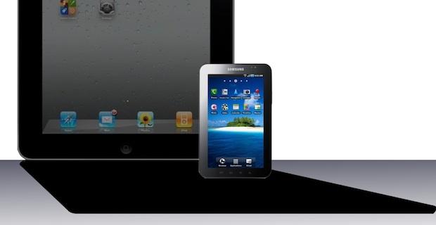 galaxy v iPad