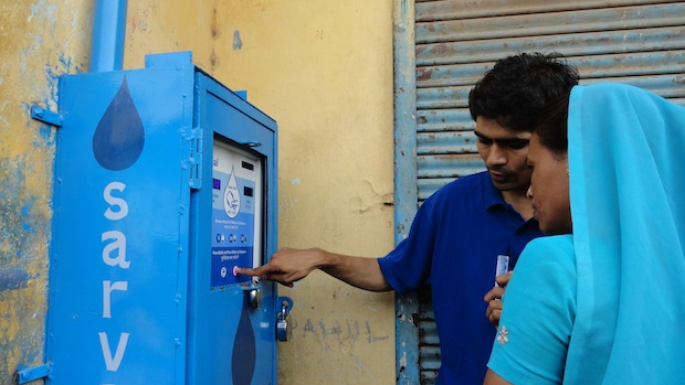Solar-Powered Water ATMs Provide Clean Drinking Water To ...