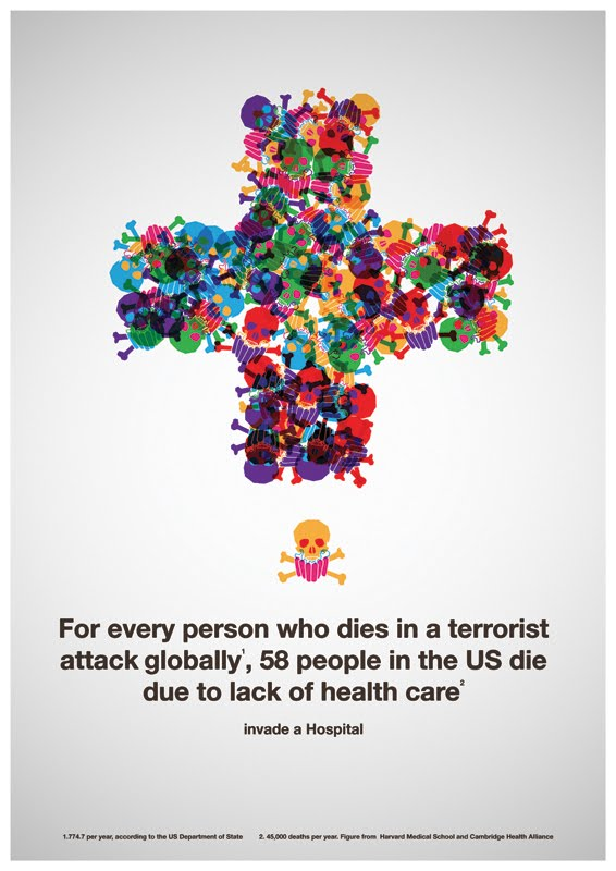 Infographic: Lack of Health Care vs. Terrorism, Which Kills More ...