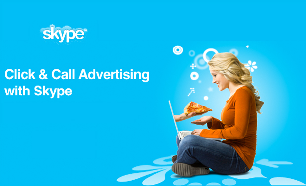 Skype Click and Call Advertising