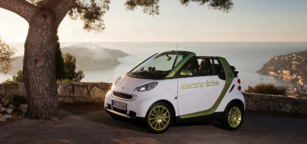 Smart electric Fortwo
