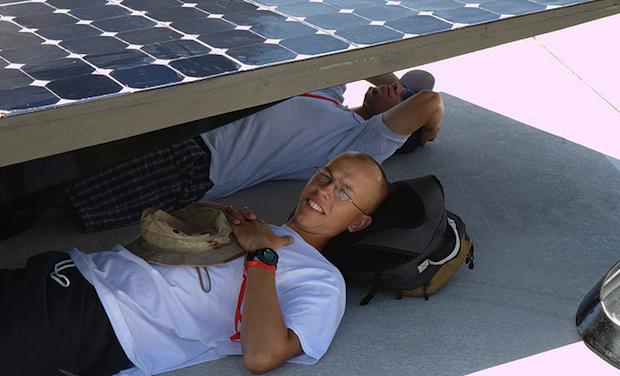 solar panel shade