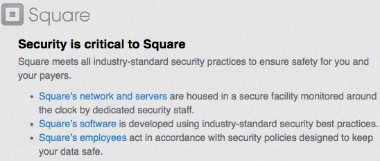 Square securithy