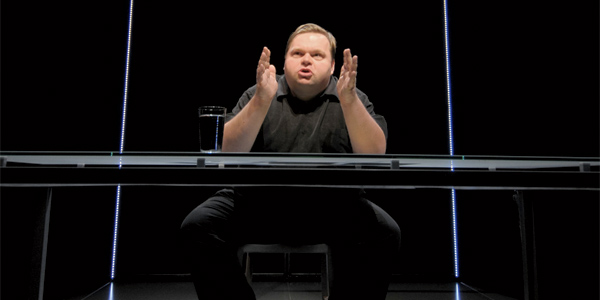 Actor Mike Daisey spent three weeks at an Apple factory to prepare for his one-man show