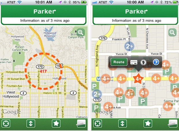 Parking Spot App >> Hunting For A Parking Spot Now Your Iphone Can Help