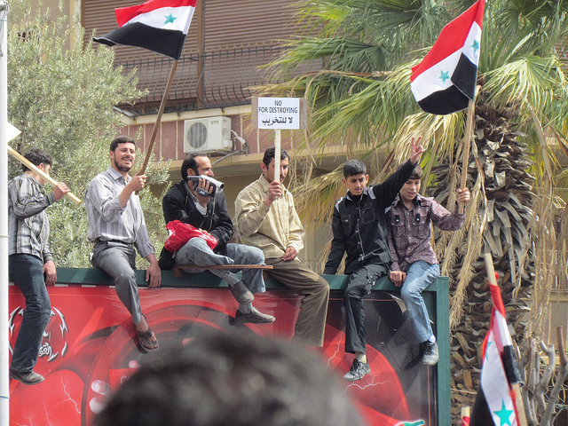 Syrian protest