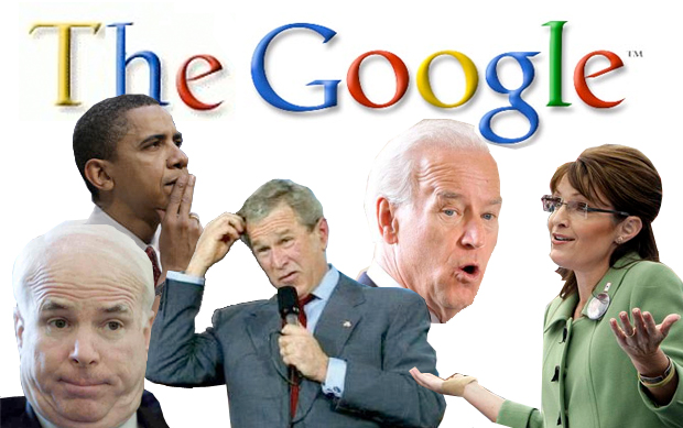 politicians and the Google