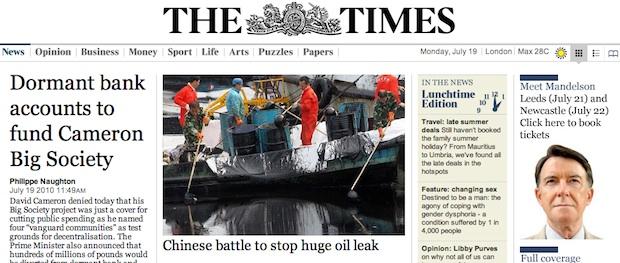 The U.K. Times