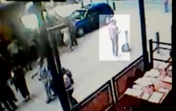 Times Square surveillance video
