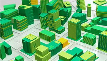 smart buildings illustration
