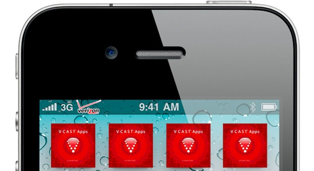 Verizon iPhone crapware