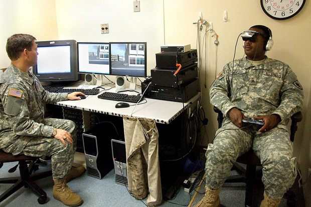virtual reality exposure for soldiers