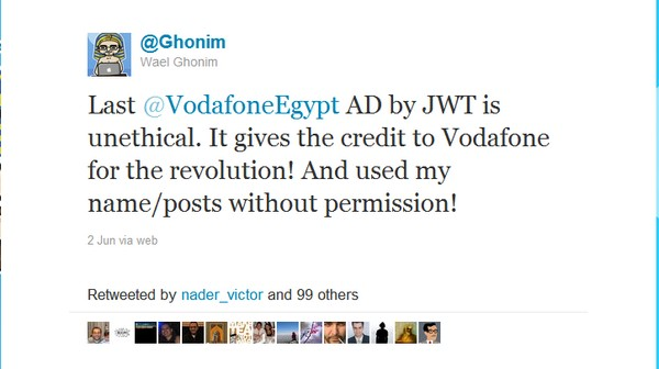 Vodafone Egypt Riles Revolutionaries With Ads That Turn