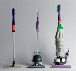 In Dyson S New Vacuum A Rolling Ball Mechanism Doubles As