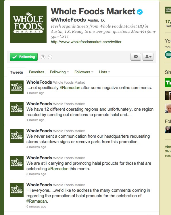 Whole Foods Market Stuck In The Middle