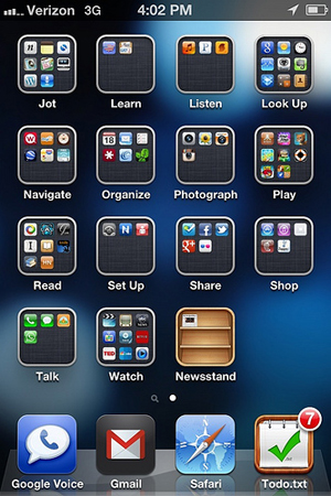 Organize your iphone or android home screen for smarter for New app ideas for iphone