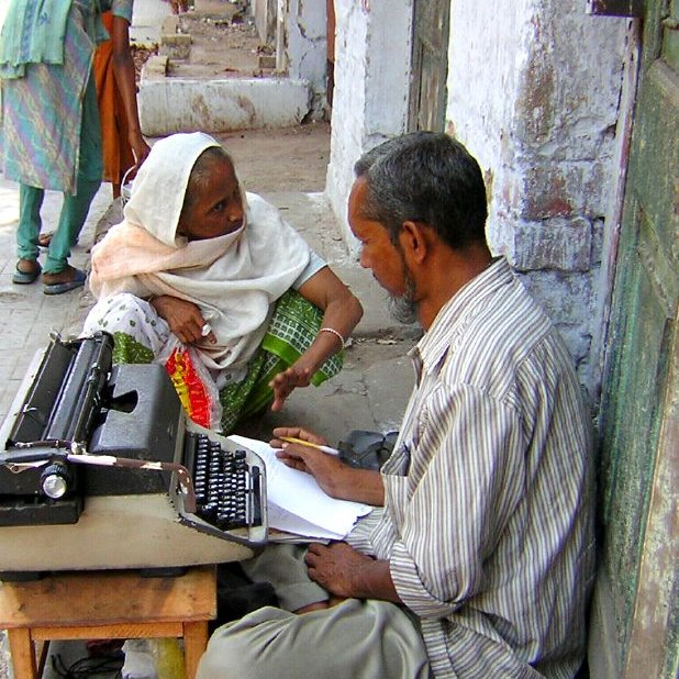 Indian letter writer