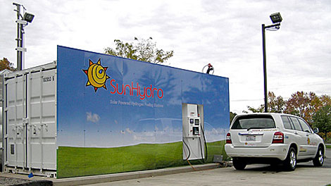 The New Hydrogen Fueling Infrastructure Filling Stations At Quick