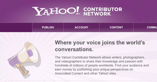 Yahoo Contributor Network